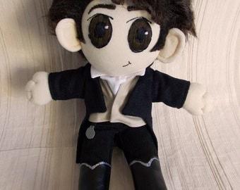 Mr Darcy Pride and Prejudice Plush Doll Plushie Toy