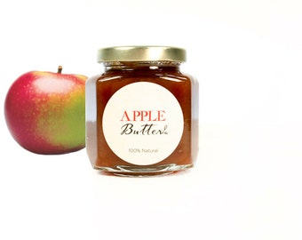 Gourmet Old Style Heirloom Macintosh Apple Butter  // All Natural // New Hampshire Home Grown // 6.3oz