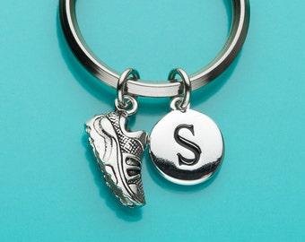 Sneaker Keychain, Sneaker Key Ring, Running Shoe, Sports, Initial Keychain, Personalized Keychain, Custom Keychain, Charm Keychain, 334