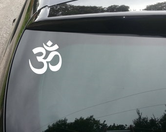 Om Sign Funny Decal for Car/Home/Windows
