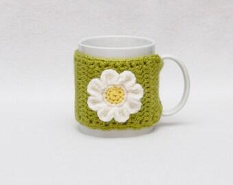 Coffee Mug, Cozy Crochet, Mug Cozy, Gift Coffee, Cup Sleeve, Cup Cozy, Gift Idea