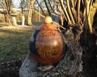 Dead Sea Scroll Gourd