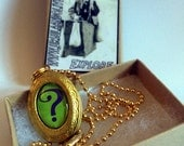 "The Riddler ""Riddle Me This"" Locket"