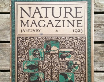 Nature Magazine - January 1925