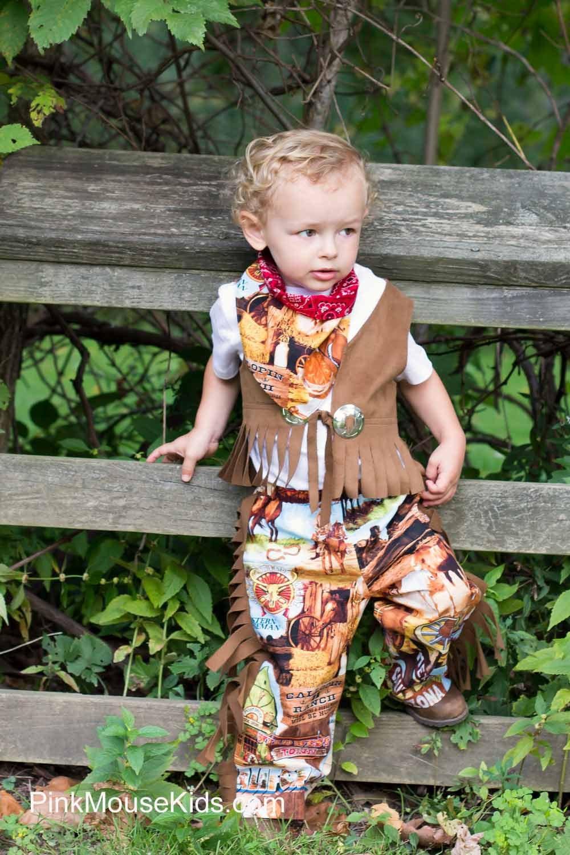 Boy Cowboy Costume Diy Little Boy Cowboy Costume