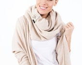 Winter set | Sweater scarf | Cozy cardigan | LeMuse cardigan scarf set