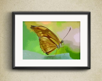 Impressionist Print - Butterfly
