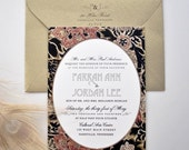 Farrah Wedding Invitation Collection Suite