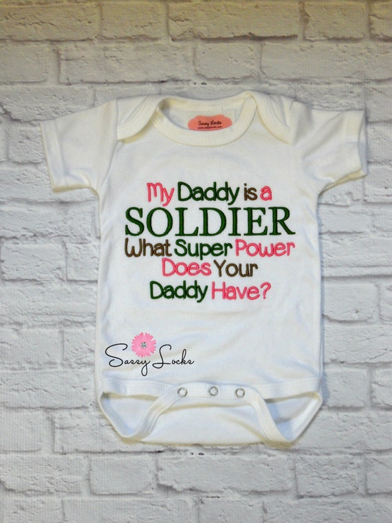 Camo Baby Clothes Military Baby Clothes Embroidered by