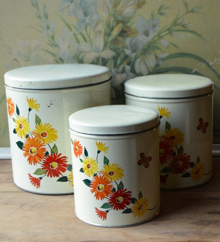 metal kitchen canisters submited images vintage metal kitchen canisters by kromex ebay