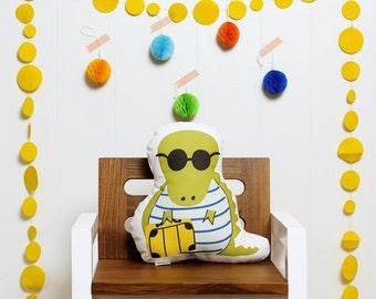 Later Gator stuffed animal softie eco friendly baby children baby nursery home decor gift