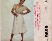 """Vintage 1970s Plus Size Skirt 22 1/2 - 24 1/2 MCall's 6596 90 Minute Fashion Sewing Pattern, Waist 40 - 42 1/2""""(102-108cm),Free US Shipping"""
