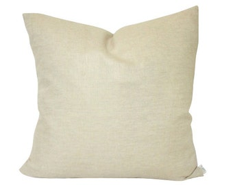 Double Sided Metallic Gold Linen Pillow Cover
