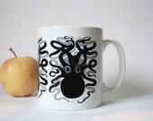 Kraken Mug - sea,ceramic, kitchen, gift, nautical