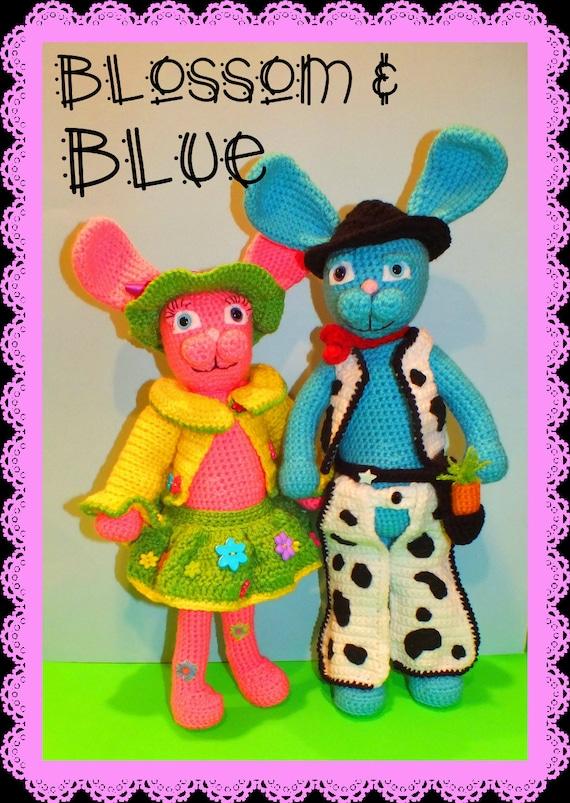 Blossom & Blue Bunny Pattern©
