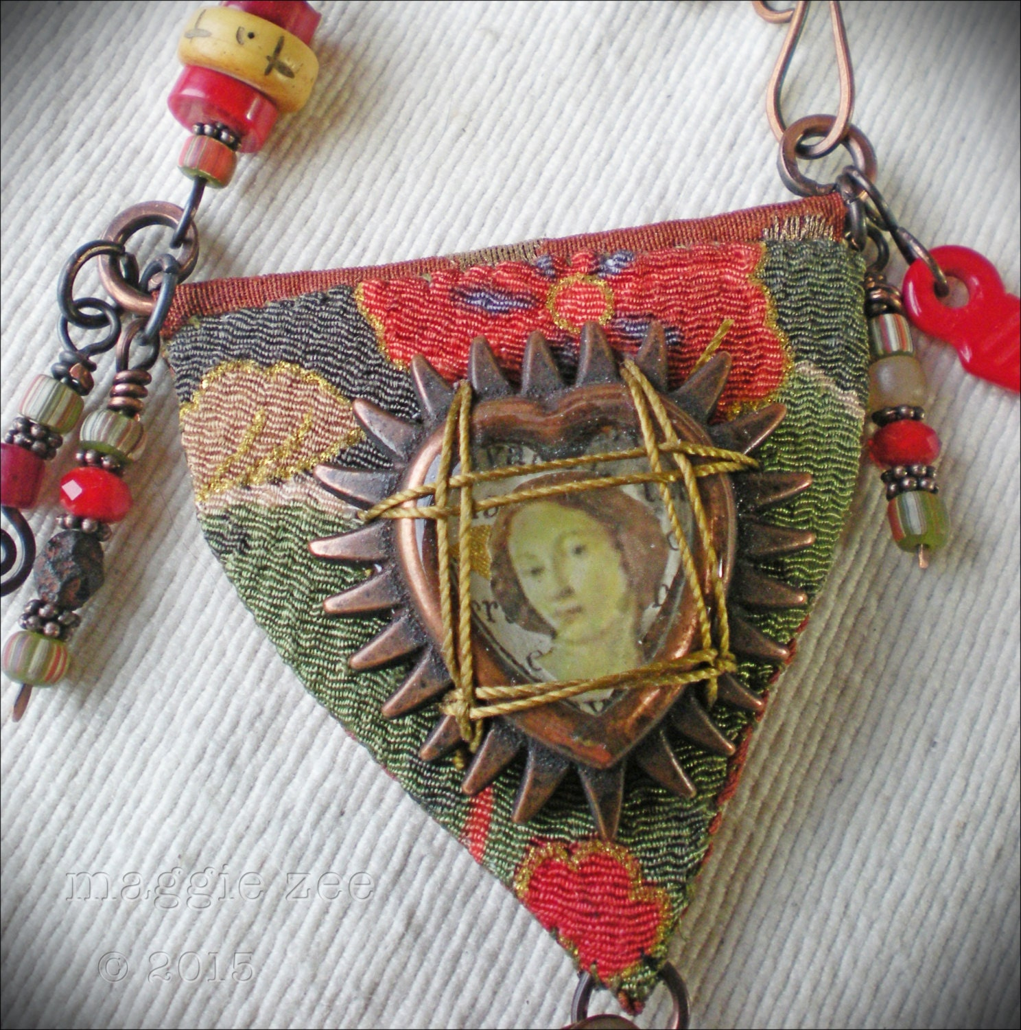 Binding Spell Protective Amulet Necklace