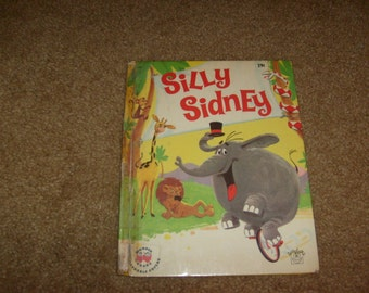 vintage SILLY SIDNEY wonder books used