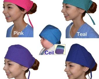 Kids Scrubs Caps for little Doctors and Nurses