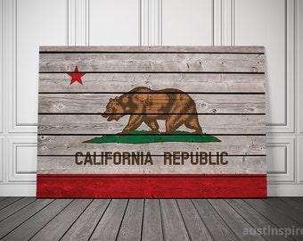 California Canvas Flag (w/Free Shipping!)