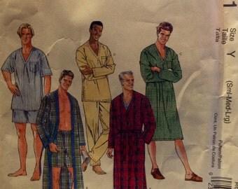 Easy McCall's M6231 UNCUT Men's Sleepwear