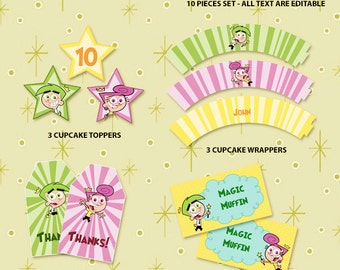 Fairly Odd Parents Printable Party Set