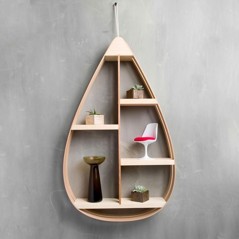 Modern Shelf mid century teardrop shelf mid century modern mid century