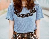 Crop top for women - Roam Sweet Roam - cropped tshirt