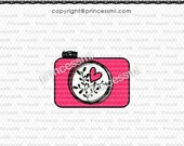 SALE #17 CAMERA clipart 1 PNG file - Digital Camera Clip Art cute camera photography clipart for  photographer by princessmi