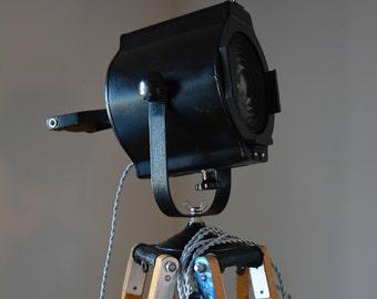Tripod Floor Lamp - Stage Spotlight