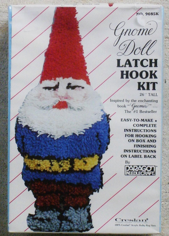 Gnome Latch Hook Kit Gnome Pillow 26 No 9085k