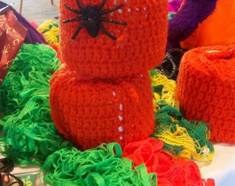 HALLOWEEN!  Toilet Tissue Cover for your bathroom!
