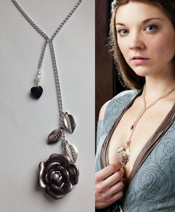 margaery tyrell pendentif game of thrones inspir bijoux. Black Bedroom Furniture Sets. Home Design Ideas