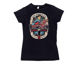 Womens Boomstick Horror T-Shirt - This is my Boomstick shirt
