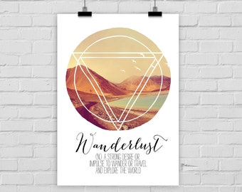fine-art print poster Wanderlust adventure inspiring photo nature