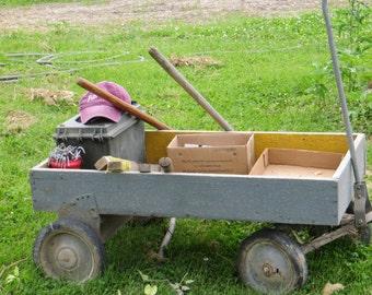 Gardening Tools Photo, Country Photography, Rustic Wagon Photo, Gardening