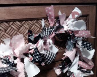 Valentine's Day lit garland