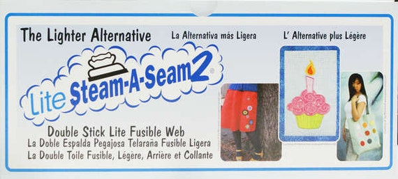 "Steam A Seam 2 Lite, 12"" Wide, 1/2 yard cut, 5440WNN"