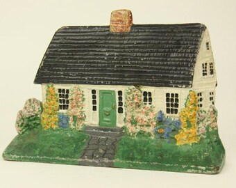 Albany Foundry Cast Iron Doorstop Cape Cottage