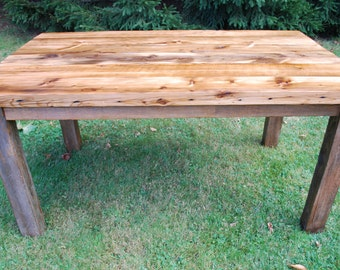 The Charles - Reclaimed Wood Farmhouse Dining Table