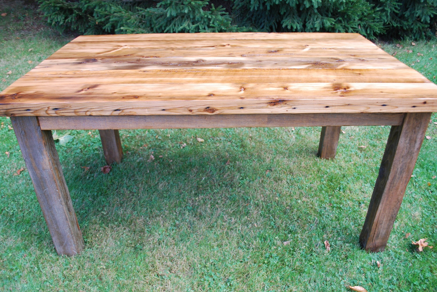 The Charles Reclaimed Wood Farmhouse Dining Table