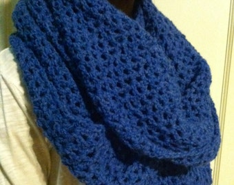 Crochet  Infinity Scarf / Cowl