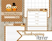 Thanksgiving Planner: Instant Download