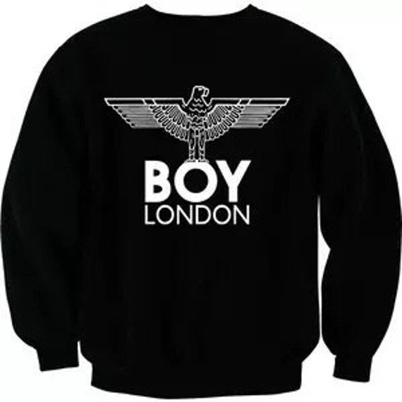 boy london sweatshirt jumper pullover hoody by didanshopping. Black Bedroom Furniture Sets. Home Design Ideas