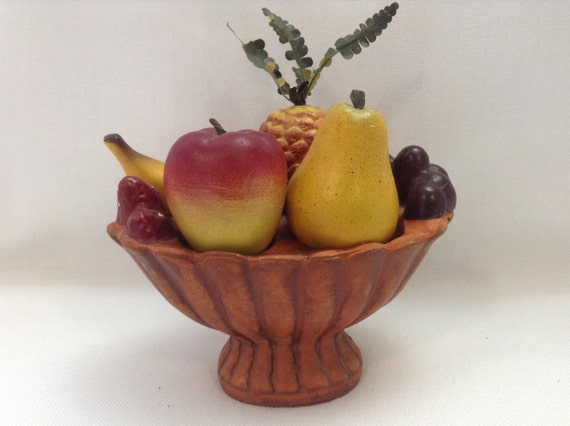 Funky Fruit Basket Salt And Pepper Shakers By