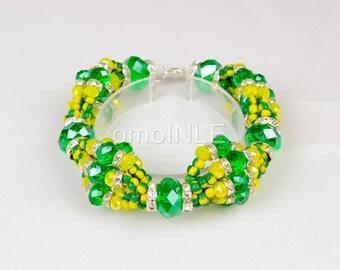 Idde de Mazo de Orunmila Orula Gruezo Bracelet Ilde For Oluo With Special Beads, Babalawo, Santero or Aleyo Ilde Free Shipping