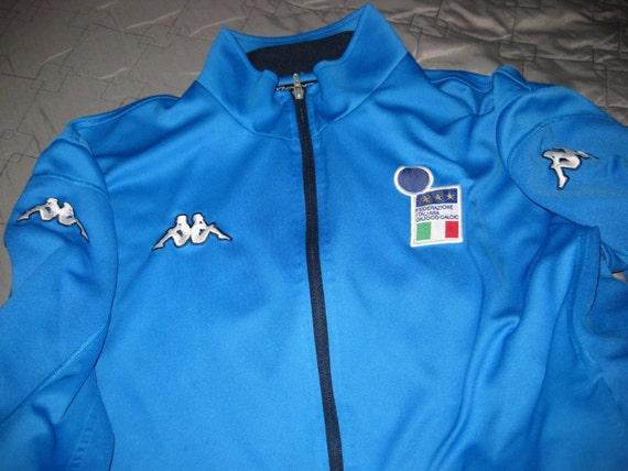 Vintage Kappa Italy Soccer Jacket Italia Football Shirt Jersey