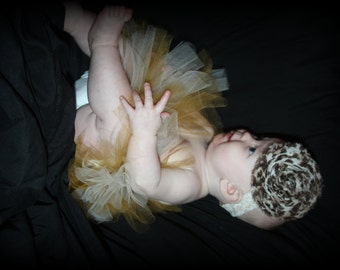 Glamorous Gold and Cream Tutu