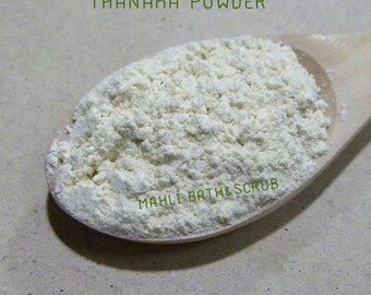 Pure Thanaka Powder, 100% Natural, Facial Mask, Anti-Oxidant, Acne Care,Oil-Control, For All Skin types