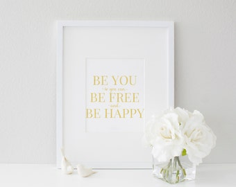 Be You - Gold Foil