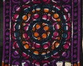 Tie Dye Hippy Sun Star tapestry Moon Mandala tapestries Indian Colorful Bedspread Bohemian Hippie throw bedspread Ethnic Beach Wall Hanging